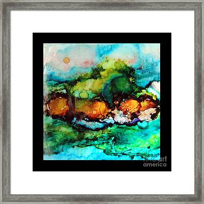 Fire  Framed Print by Alene Sirott-Cope
