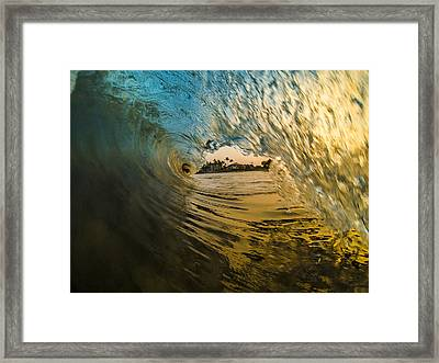 Fire And Ice Framed Print by Brad Scott