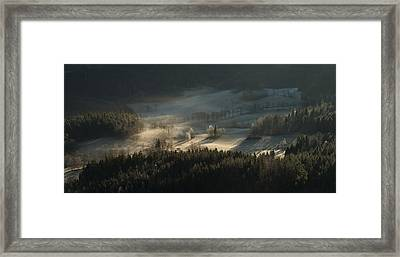 Fire And Ice II Framed Print