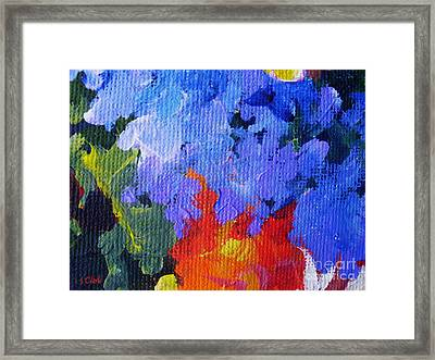 Fire And Ice Framed Print by John Clark