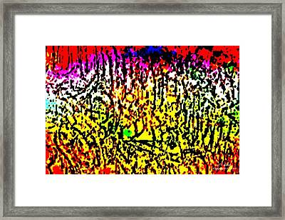 Fire And Ice Framed Print by Larry Lamb
