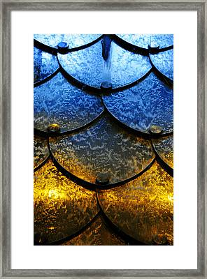 Fire And Ice Framed Print by Skip Hunt
