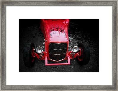 Framed Print featuring the photograph Fire And Water by Aaron Berg