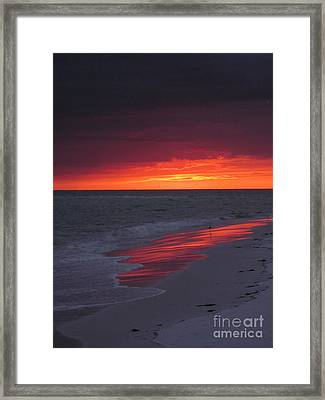 Fire And Water Framed Print