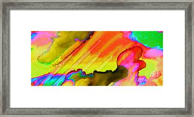 Fire And Water II Framed Print