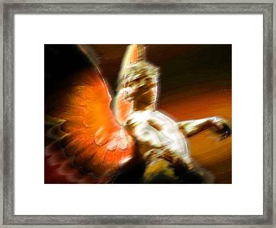 Fire Angel 2 Framed Print by Tony Rubino