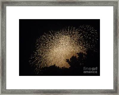 Framed Print featuring the photograph Fire Art by Christina Verdgeline