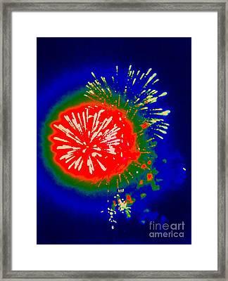 Fire Ball Framed Print