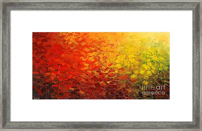 Fire Born Moods Framed Print by Tatiana Iliina