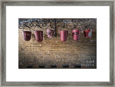 Fire Buckets Framed Print by Svetlana Sewell