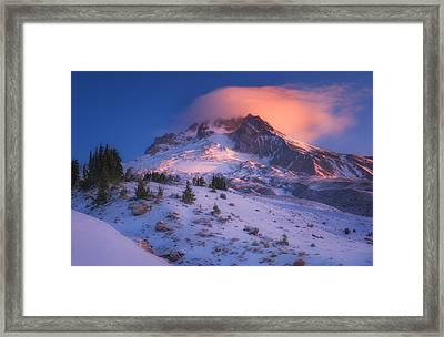 Fire Cap Framed Print by Darren  White