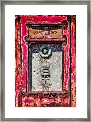 Framed Print featuring the photograph Fire Chief Gas by Steven Bateson