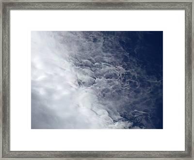 Fire Cloud Framed Print