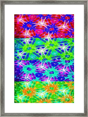 Fire Cracker Framed Print