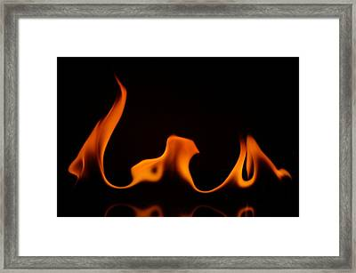 Fire Dance Framed Print by Chris Fraser