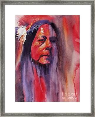 Fire Dancer Framed Print by Robert Hooper