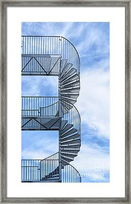 Fire Escape Framed Print by Antony McAulay