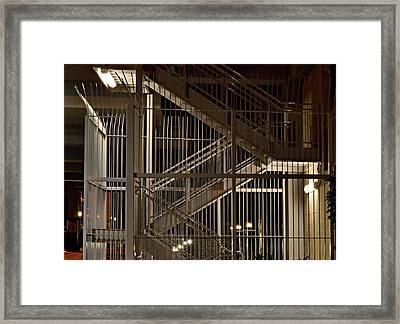Fire Escape Framed Print by See My  Photos
