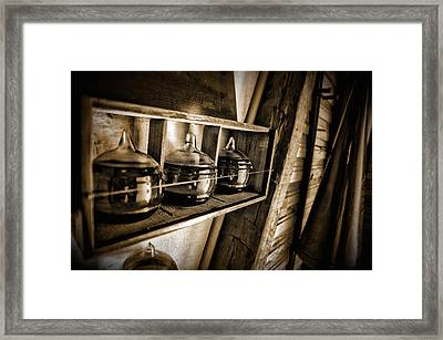 Fire Extinguisher Framed Print