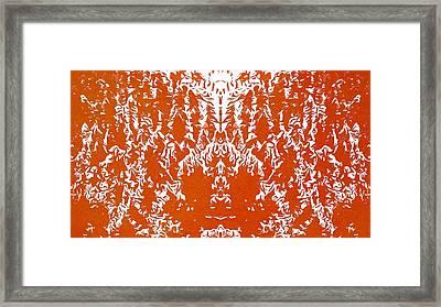 Fire God Agni Framed Print by Dan Sproul