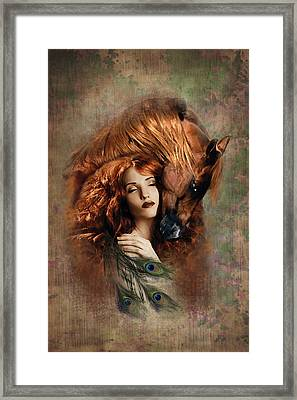Fire Framed Print by Graphicsite Luzern