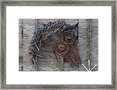 Fire Horse Framed Print