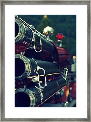 Fire Hoses Framed Print