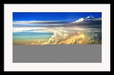 Thunderheads Framed Prints