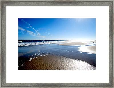 #nowivearrived Framed Print by Becky Furgason