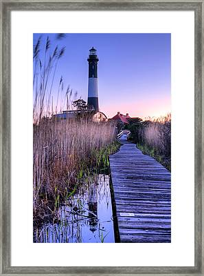 Fire Island Reflections Framed Print by JC Findley