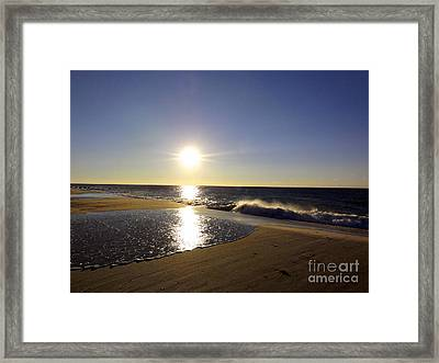 Fire Island Sunday Morning - 13 Framed Print