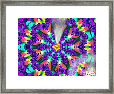 Fire It Up Framed Print by Bobby Hammerstone