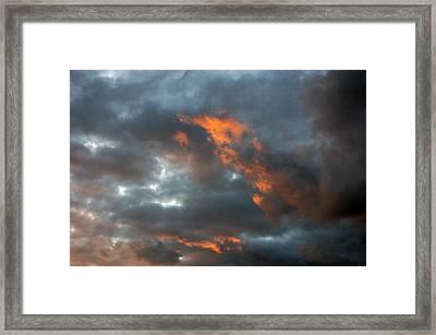 Fire Light Framed Print