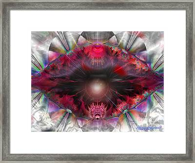 Fire-n-ice Framed Print by Dana Haynes