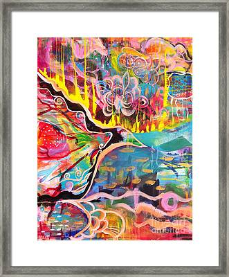 Fire Of Transformation Framed Print