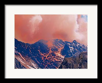 Colorado Wildfires Framed Prints