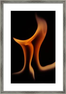 Framed Print featuring the photograph Fire Pi by Chris Fraser