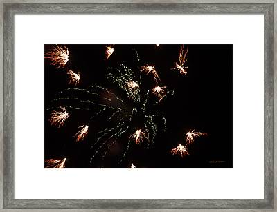 Framed Print featuring the photograph Fire by Robert Culver