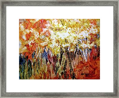Fire Season IIi Framed Print by Kris Parins