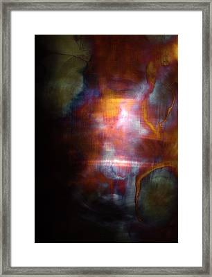 Fire Song Framed Print