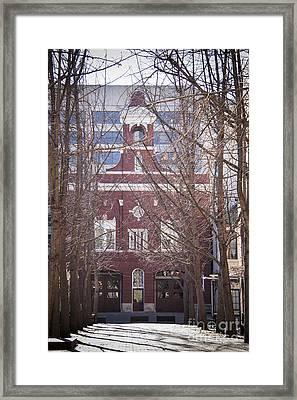 Fire Station No 1 Framed Print by Teresa Mucha