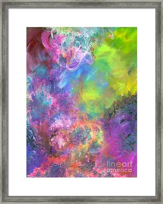 Fire Storm Framed Print