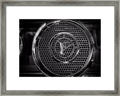Framed Print featuring the photograph Fire Truck Siren by Bob Orsillo
