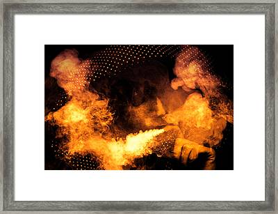 Fire Walk With Me Framed Print by Loriental Photography