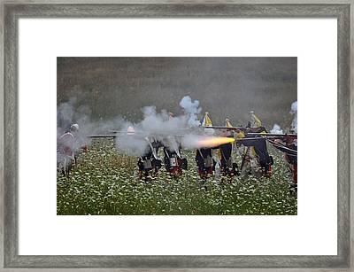 Fire Framed Print by William Coffey