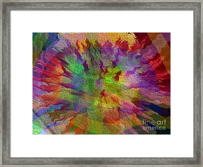 Framed Print featuring the photograph Fire Within by Kathie Chicoine
