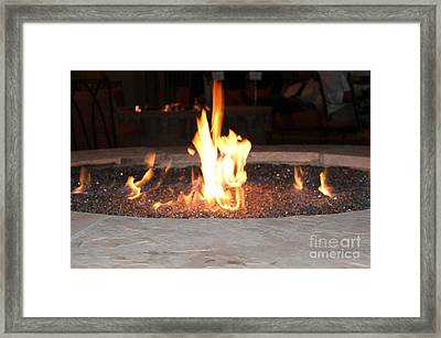 Fire You Framed Print