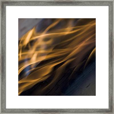 Framed Print featuring the photograph Fire by Yulia Kazansky