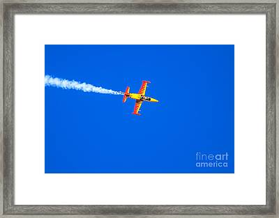Firecat Jet Framed Print by Robert Bales