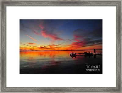 Firecracker Sunset 33 Framed Print